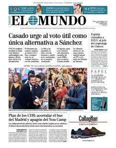 El Mundo - 09 11 (2019)