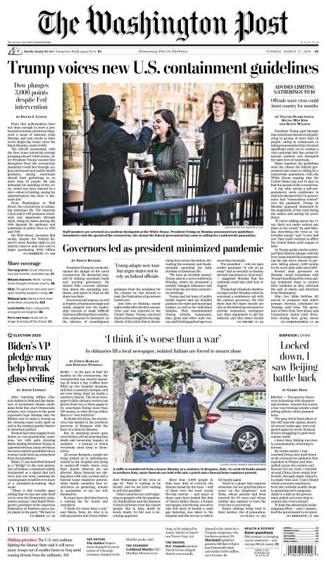 The Washington Post - 17 03 (2020)