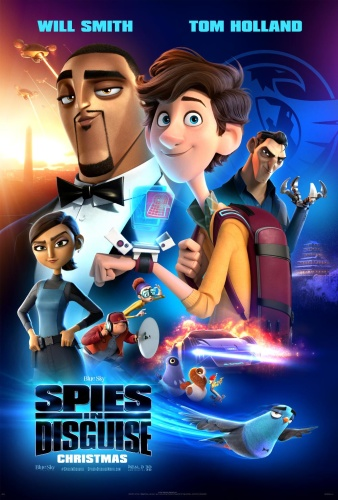 Spies In Disguise 2019 720p BluRay 800MB x264-GalaxyRG