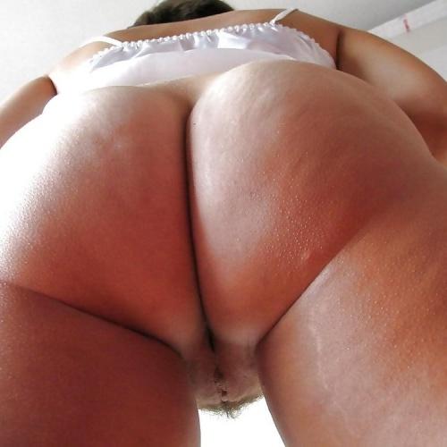 Big naked mature boobs