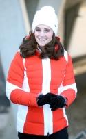 Kate Middleton -                Holmenkollen Ski Jump Oslo February 2nd 2018.