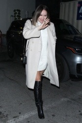 Katharine McPhee - Outside Craig's in West Hollywood 01/22/2019