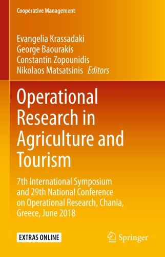 Operational Research in Agriculture and Tourism - 7th Intern