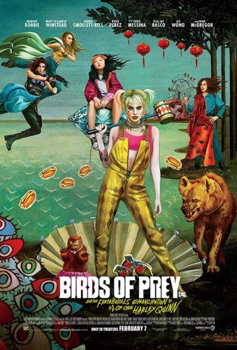 Birds of Prey  the Fantabulous Emancipation of One Harley Quinn 2020 1080p WEBRip ...