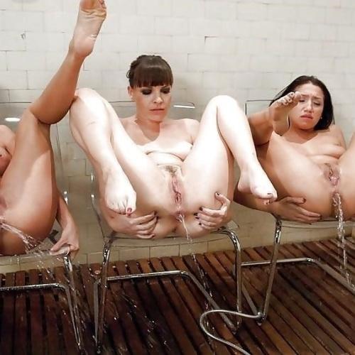 Lesbian enema bdsm