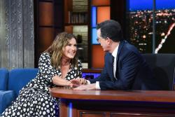 Mariska Hargitay - The Late Show with Stephen Colbert: May 1st 2019