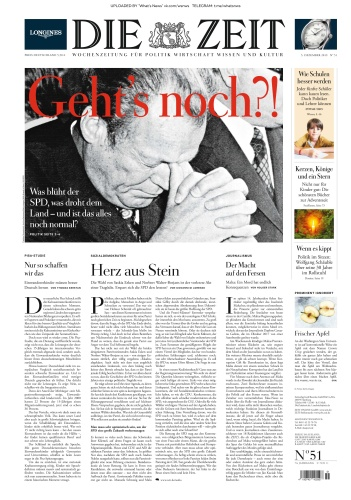 Die Zeit - 05 12 (2019)