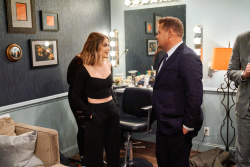 Lucy Hale - The Late Late Show with James Corden: April 10th 2018