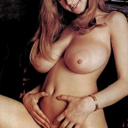 Retro natural big tits