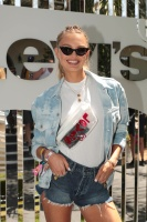 Romee Strijd -        Levis Coachella Brunch Coachella Valley Music and Arts Festival Palm Springs April 14th 2018.