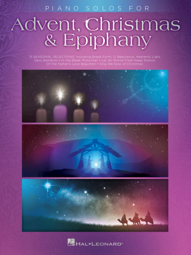 Piano Solos For Advent Christmas And Epiphany (2017)