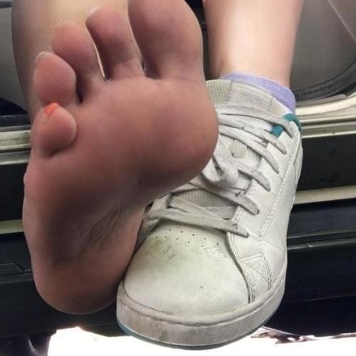 Sloppy feet worship