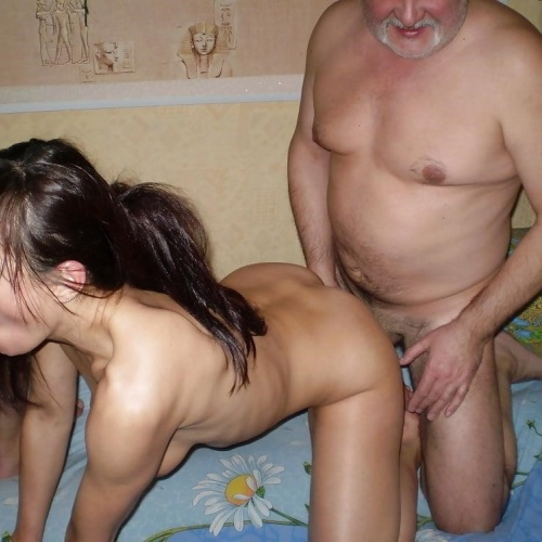 Mature wife at swingers party