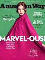 Karen Gillan -              American Way Magazine May (2018).