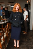Christina Hendricks -               Edible Land And Seascapes Presented by Black Cow Vodka Los Angeles April 4th 2018.