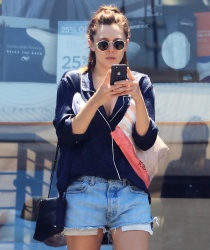 Elizabeth Olsen - Out in Studio City 7/25/18