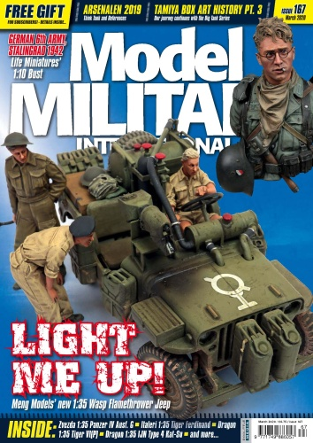 Model Military International - Issue 167 - March (2020)