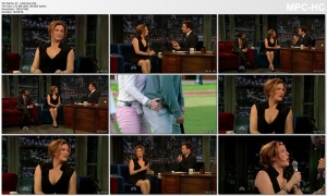ANA GASTEYER *cleavage, legs* SNL actress - fallon - March 29, 2012