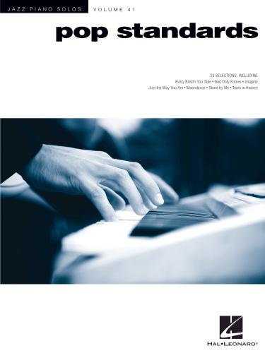 Pop Standards (Jazz Piano Solos, Volume 41)