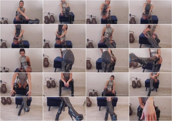 Nikki Next - Thank Me For Worshipping My Boots