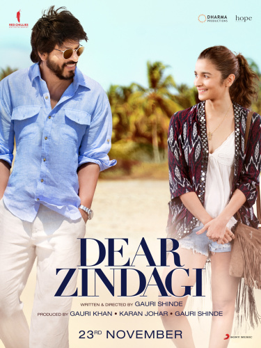 Dear Zindagi (2016) (1080p BluRay x265 HEVC 10bit AAC 7 1 Hindi Bandi)