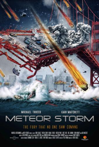 Meteor Storm (2010) 720p HDTVRip x264 [Dual Audio][Hindi+English]