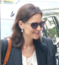 Katie Holmes - Arriving at Tribeca Film Festival Luncheon at the Greenwich Hotel in NYC 04/25/19