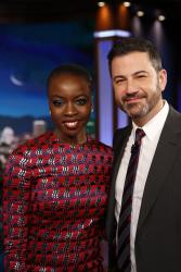 Danai Gurira - Jimmy Kimmel Live: January 31st 2018