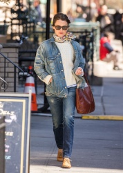 Keri Russell - Out in Brooklyn 4/20/18
