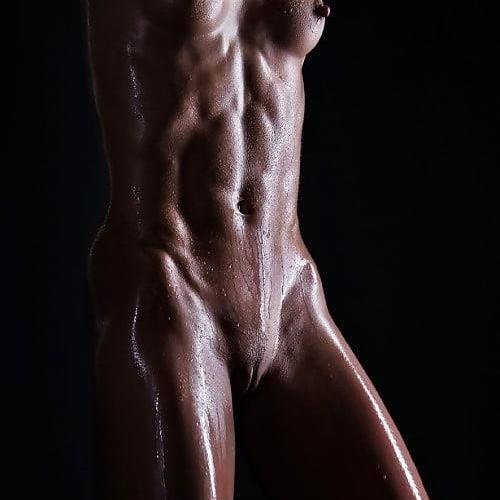 Nude black fitness girls
