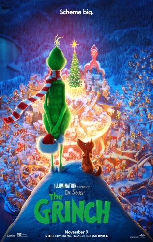 The Grinch (2018) 720p BluRay x264 DD5 1 {Dual Audio}{Hindi+English} KMHD