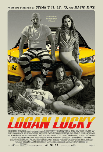 Logan Lucky 2017  1080p BluRay x264 DTS - 5 1  KINGDOM-RG