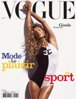 Gisele Bundchen -            Vogue Magazine (Paris) June/July 2019.