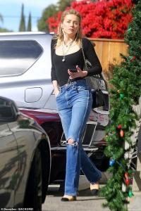 Amber Heard  - Shopping in LA 12/20/18