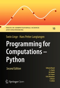 Programming for Computations - Python- A Gentle Introduction to Numerical Simulati...