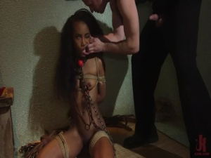 Demi Sutra - Stockholm Slut Demi Sutra gets fuck-love struck by captor Bill Bailey - BDSM, Punishment, Bondage