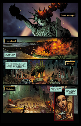Lady Death (Chapter 09)   Scorched Earth  (2019)  (DR & Quin