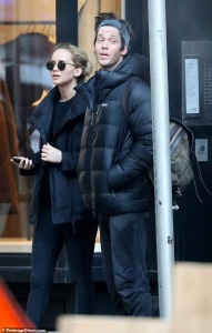 Jennifer Lawrence - Leaving pilates class in NYC 3/12/19