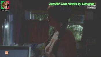 Jennifer Love Hewitt sexy in Ghost Whisperer