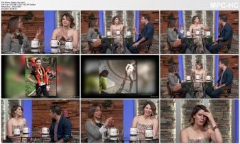 AYLIN MUJICA *amazing thigh show* - buenos dias familia - 11-27-2018