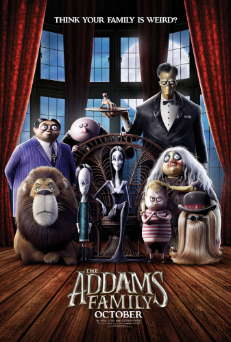 The Addams Family 2019 MULTi UHD BluRay 2160p HDR DTS-HDMA 5 1 HEVC-DDR