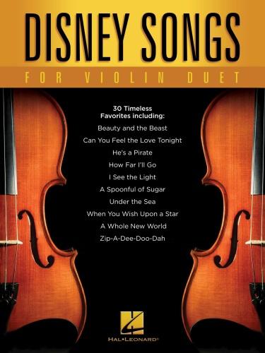 Hal Leonard Disney Songs For Violin Duet (2018)