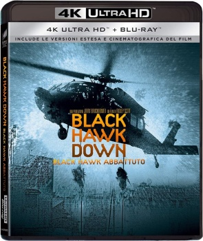 Black Hawk Down - Black Hawk abbattuto (2001) 2in1 Full Blu-Ray 4K 2160p UHD HDR 10Bits HEVC ITA DD 5.1 ENG Atmos/TrueHD 7.1 MULTI