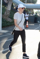 Kaley Cuoco - At Dodger Stadium for the World Series in LA 10/26/2018