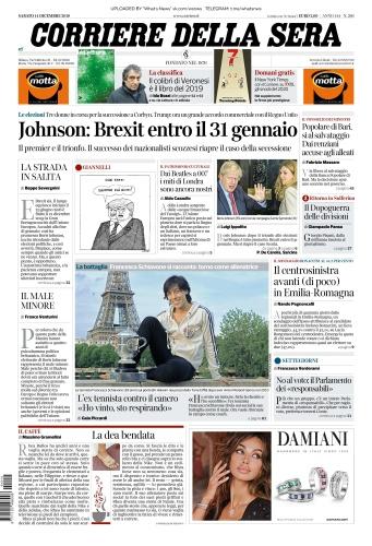 Corriere della Sera - 14 12 (2019)