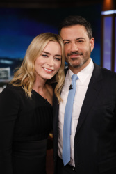 Emily Blunt - Jimmy Kimmel Live: November 14th 2018