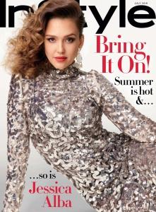Jessica Alba -                 InStyle Magazine July (2018).