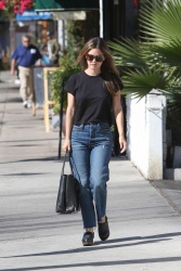 Rachel Bilson - Out and about in LA 11/6/17