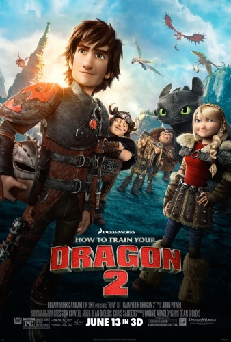 How to Train Your Dragon 2 (2014) 1080p x265 HEVC 10bit BluRay AAC 7 1 Prof