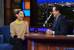 Laurie Metcalf - The Late Show with Stephen Colbert: January 12th 2018